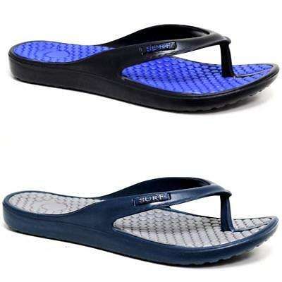 New Mens Flip Flops Beach Summer Toe Post Eva Shower Mules Sandals Surf Shoes  • 6.99£