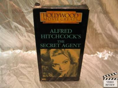$ CDN28.23 • Buy The Secret Agent VHS Peter Lorre Madeline Carroll Alfred Hitchcock Hollywood Mov