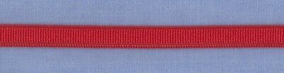 AU1.20 • Buy 6mm Red Woven Elastic ( X 2 Metres)