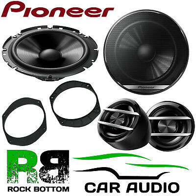 Pioneer Ford Fusion 2002-2012 On 600W Component Kit Rear Door Car Speakers • 59.99£
