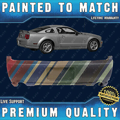 $350.99 • Buy NEW Painted To Match Rear Bumper Cover Direct Fit For 2005-2009 Ford Mustang GT