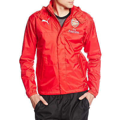 PUMA Arsenal Lightweight Rain Jacket Football Coat New • 17.99£