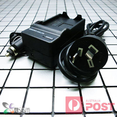 AU26.50 • Buy AC Wall Car Battery Charger For Canon NB-12L NB12L PowerShot G1X Mark II 2 N100