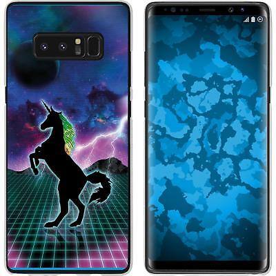 Case For Samsung Galaxy Note 8 Silicone Case Retro Wave M2 Cover • 8.90£