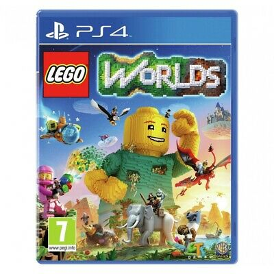 AU31.35 • Buy Lego Worlds PS4 Game