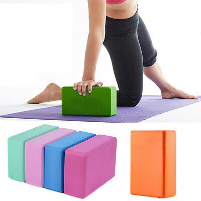 AU13.44 • Buy Home Pilates Yoga Block Foaming Foam Brick Exercise Fitness Stretching Aid Gym