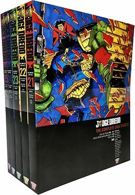 Judge Dredd: Complete Case Files Volume 21-25 (Series 5) Collection 5 Books Set  • 56.33£