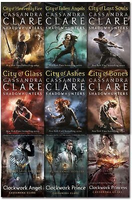 Mortal Instruments & Infernal Devices Cassandra Clare Collection 9 Books Set NEW • 24.99£