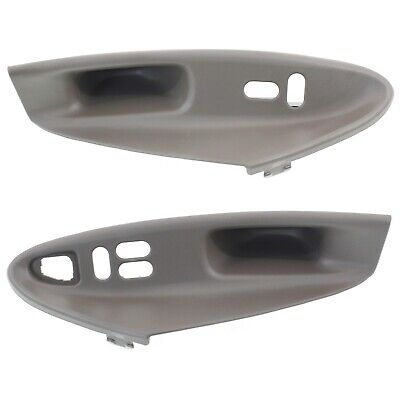 $36.39 • Buy Window Switch Bezel For 99-2004 Ford Mustang Set Of 2 Front LH And RH
