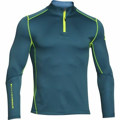 4690570b846 New With Tags Mens Under Armour Muscle ColdGear Infrared Grid 1 2 Zip Top  Jacket