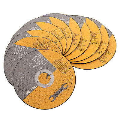 £12.39 • Buy 10 Pack Of Metal Cutting Discs 230mm 9   Thin Stainless Steel Angle Grinder Cut
