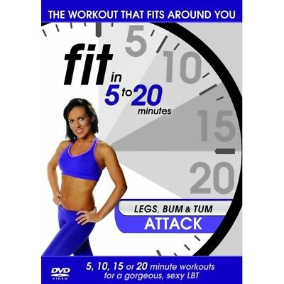 Fit In 5 To 20 Minutes - Legs, Bum And Tum Attack DVD • 8.49£