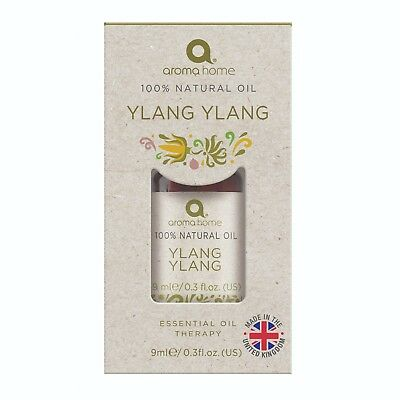 Aroma Home Ylang Ylang 100% Pure Essential Oil Therapy - 9ml • 9.95£