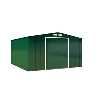 Partner Eco Metal Garden Shed Heavy-Duty Galvanised Steel Apex Storage Unit • 385£