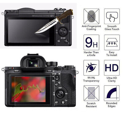 $ CDN1.36 • Buy LCD Screen Protector Tempered Glass Shield Guard Film For SONY A6000 A7 A7 II