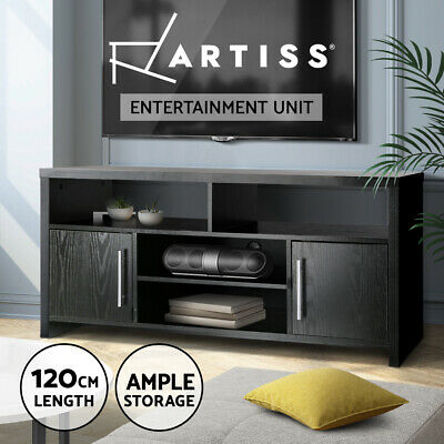 AU149.95 • Buy Artiss TV Cabinet Entertainment Unit Stand Storage Shelf Sideboard Black