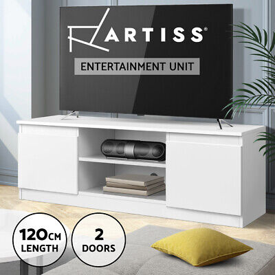 AU109.95 • Buy Artiss TV Cabinet Entertainment Unit Stand Side Storage Cupboard Lowline