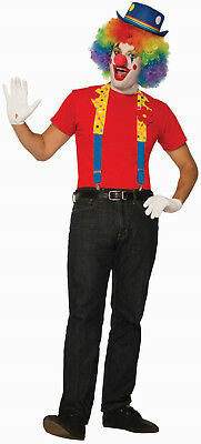 $ CDN17.18 • Buy Clown Collar And Suspenders Costume Accessory Adult One Size