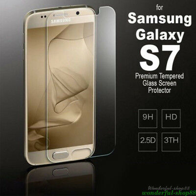 $ CDN4.28 • Buy Clear Screen Protector Tempered Glass Protective For Samsung Galaxy S7/S7 DIY