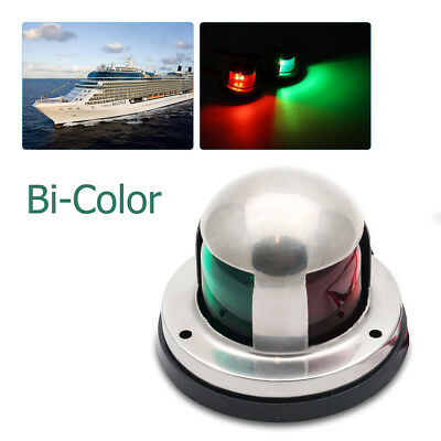 AU15.55 • Buy Marine Boat Yacht 12V Starboard/Port LED Bow Navigation Lights Red & Green Lens
