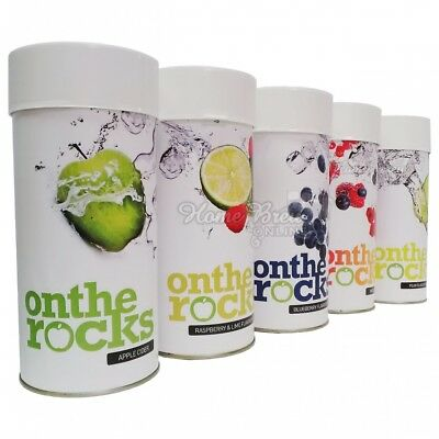 On The Rocks Cider Kit Refill Apple Pear Raspberry Lime Berry Home Brew CHOICE • 25.75£