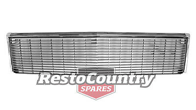 AU399 • Buy Holden HX Statesman UPPER Grille With Stainless Steel Chrome Trim NEW Hj Hz