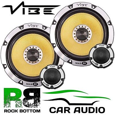 Ford Focus 1998-2004 On Vibe 690 Watts Component Kit Rear Door Car Speakers • 109£