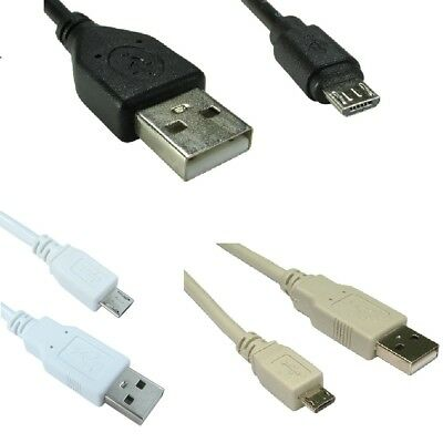 £2.99 • Buy Micro USB Cable Charger Lead For Samsung Galaxy Kindle 0.5m 1m 2m 3m 5m