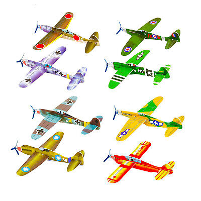 £1.12 • Buy CHILDRENS WWII FLYING GLIDERS. Kids Toys- Party Bag Fillers Packs Of 1-48