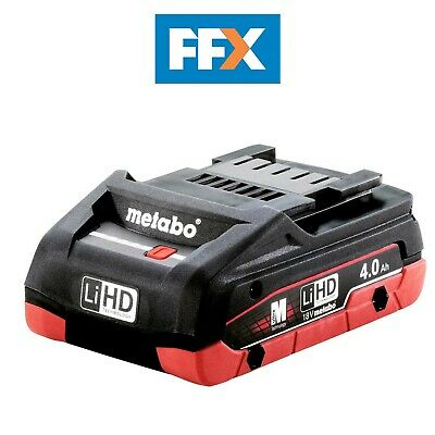 £44.48 • Buy Metabo 625367000 18v LIHD 4.0Ah Compact Battery Exceptionally Long Working Time
