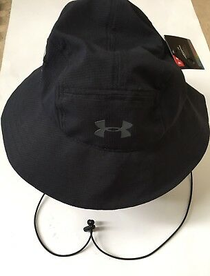 41490f8a407 New Under Armour Men s ArmourVent Bucket Hat - Black • 24.85