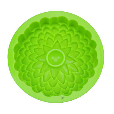 $9.78 • Buy Silicone  Pan Round Cake Mold Non Stick Bakeware Baking Fluted Tin