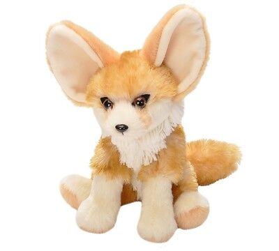 New Plush Wild Republic Cuddlekins 8  Fennec Fox Cuddly Soft Toy Teddy  • 9.95£