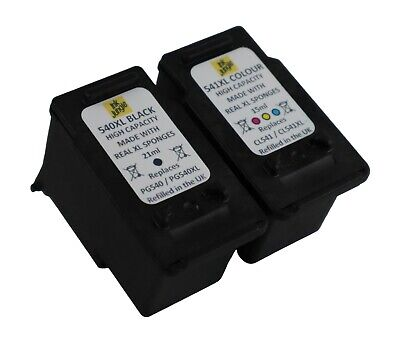 PG540XL Black & CL541XL Colour Ink Cartridge For Canon PIXMA MG3150 Printer • 29.95£