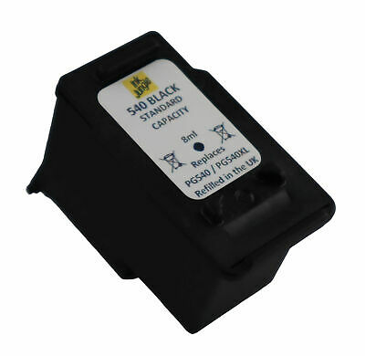 1x PG540 Black Remanufactured Ink Cartridge For Canon PIXMA MG3650 Printer • 13.95£