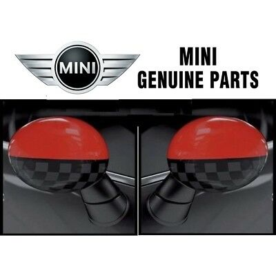 dd19bc0aa7bad For Mini John Cooper Works Pro Mirror Caps Pair Set Of Left   Right Genuine  •