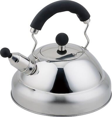 Buckingham Stove Top Induction Gas Whistling Kettle 3 L - Stainless Steel  • 23.99£