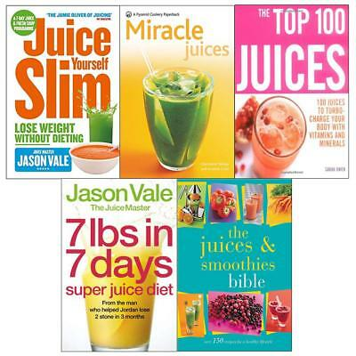 £14.99 • Buy Juice Yourself Slim 7lbs In 7 Days Super Juice Diet 5 Books Collection Set NEW