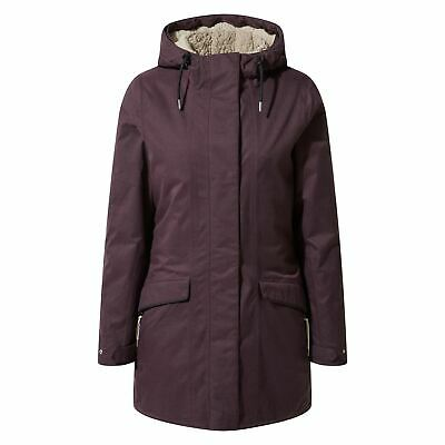 Craghoppers Inga Womens Waterproof Parka Jacket Coat Ladies Outdoor • 79.99£