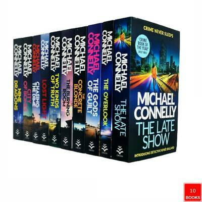 £29.99 • Buy Michael Connelly Harry Bosch Series 10 Books Collection Set (The Late Show,Gods)