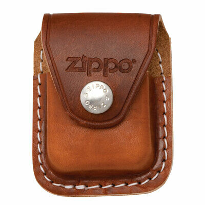 Zippo Lighter Pouch With Clip Brown Leather (LPCB) • 9.60$