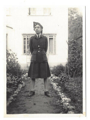 WW2 Young Lady In Uniform - Vintage Photograph C1940s • 5.25£