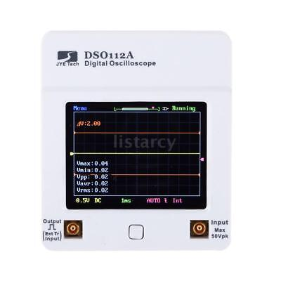 Handheld DSO112A TFT Touch Screen Digital Storage Oscilloscope 2MHz 5Msps H7E2 • 39.01£