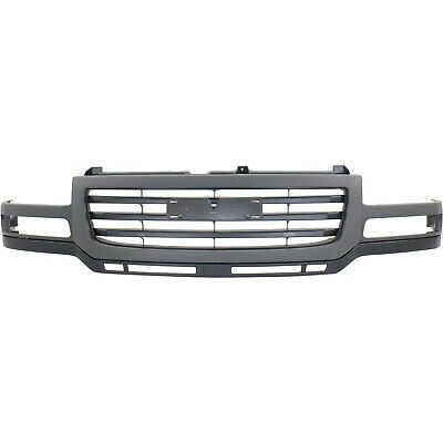 $305.46 • Buy Grille For 2003-2007 GMC Sierra 2500 HD Sierra 3500 Gray Shell W/ Black Insert