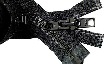AU22.69 • Buy YKK #10, Separating Zipper, Double Metal Slider, Boat Canvas