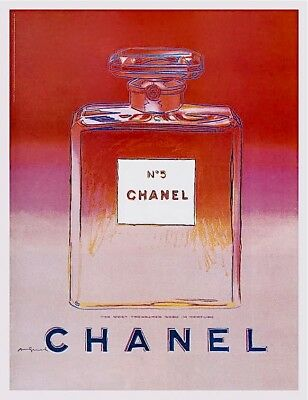 $795 • Buy Chanel (Red & Pink) Offset Lithograph On Paper Mounted On Canvas Andy Warhol