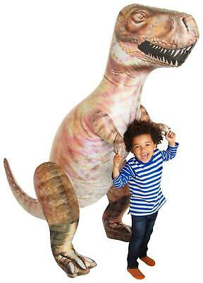 Large Inflatable Blow Up 5ft 10in T-rex Jurassic Park Dinosaur Toy Pool Party  • 14.95£