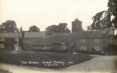 Great Dalby Near Melton Mowbray. The Green # 449 By T.T.& Co.,M.M. • 17.50£