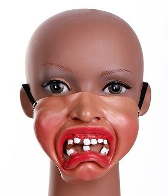 $ CDN18.92 • Buy Cry Baby Mask Latex Half Face Fancy Dress Costume Stag Night Crying Halloween