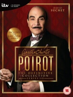 Poirot Series 1 To 13 Complete Collection NEW DVD REGION 2 • 85.99£